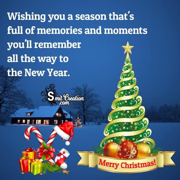 Wishing You A Merrry Christmas