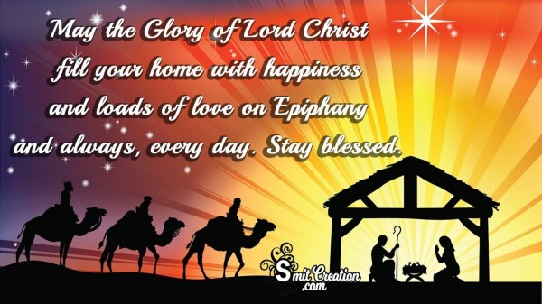 Stay Blessed On Epiphany