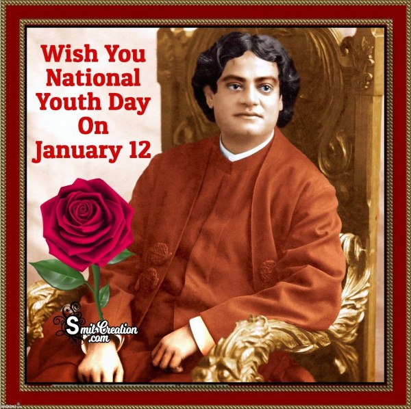 Wish You National Youth Day On January 12