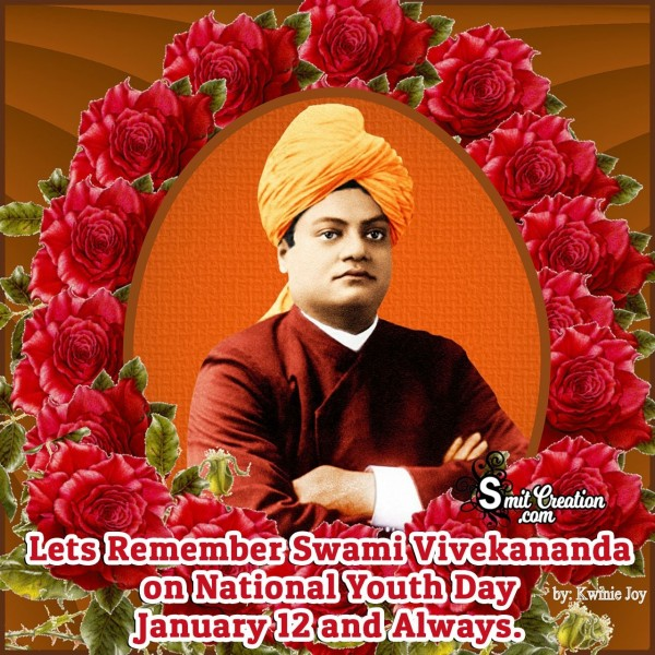 Lets Remember Swami Vivekananda On National Youth Day