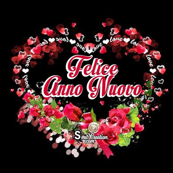 Felice Anno Nuovo Amore