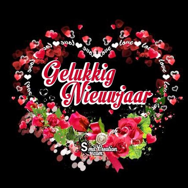 Gelukkig Nieuwjaar Liefde