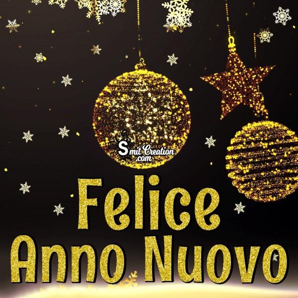 Felice Anno Nuovo Scintillare