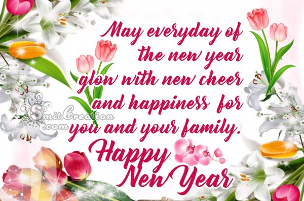 Happy New Year Wish For Happiness