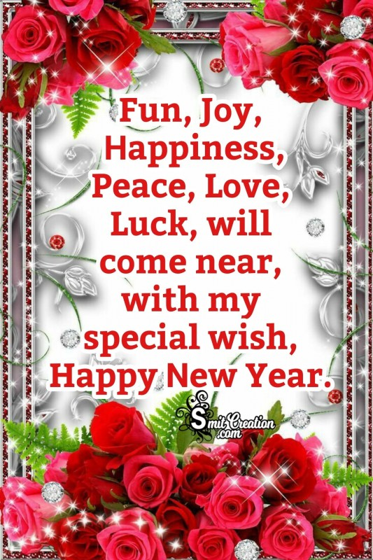 Happy New Year Special Wish