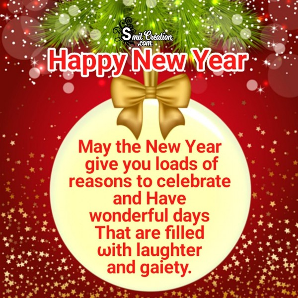 Happy New Year Wonderful Wish