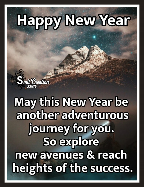 Happy New Year Wish For Success