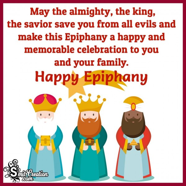 Happy Epiphany Message