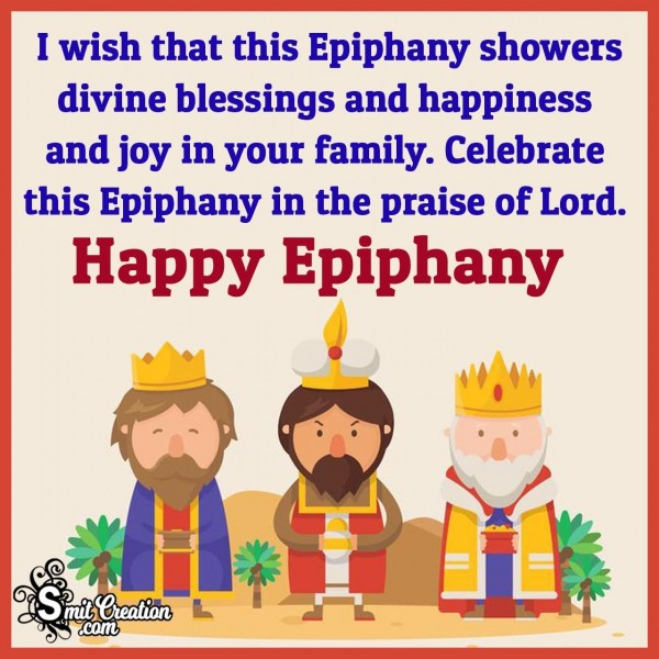 Happy Epiphany Wishes