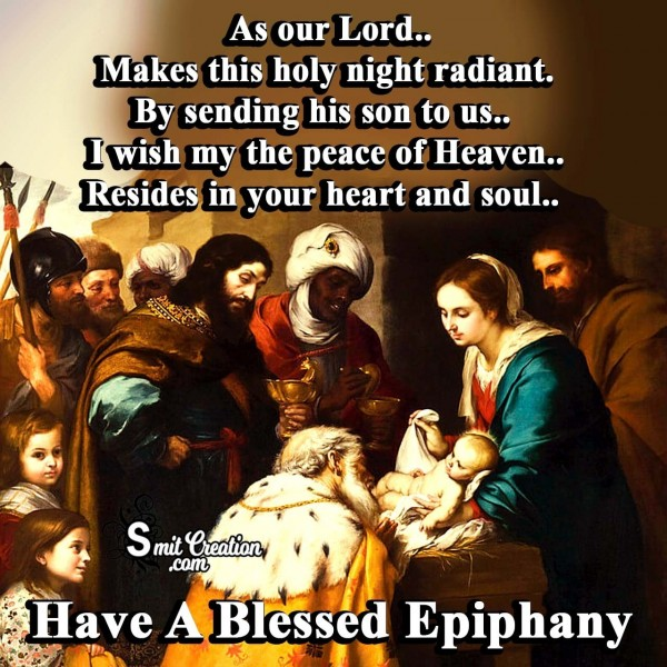 Have A Blessed Epiphany