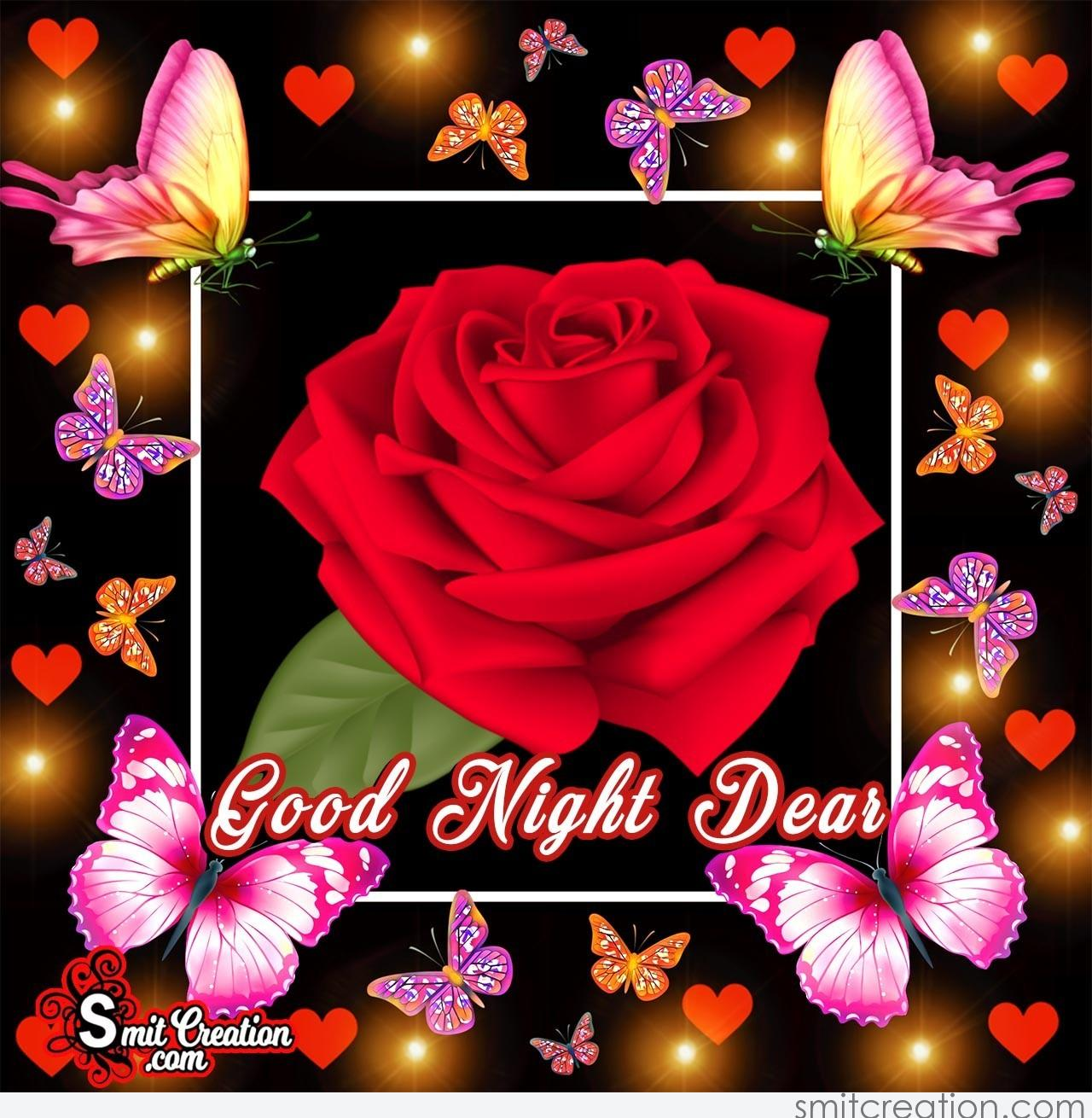 Good Night Flower Pictures And Graphics Smitcreationcom
