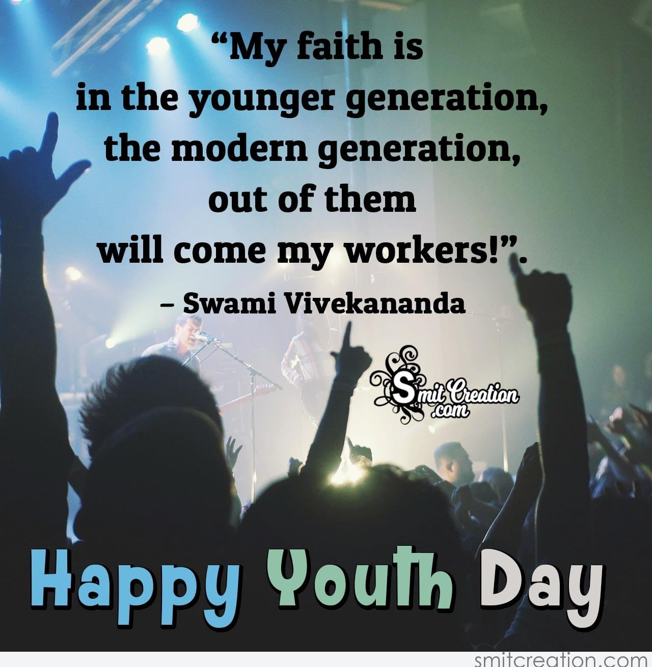 happy youth day quote com