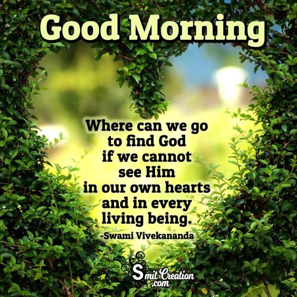 Good Morning Thought On God By Vivekananda