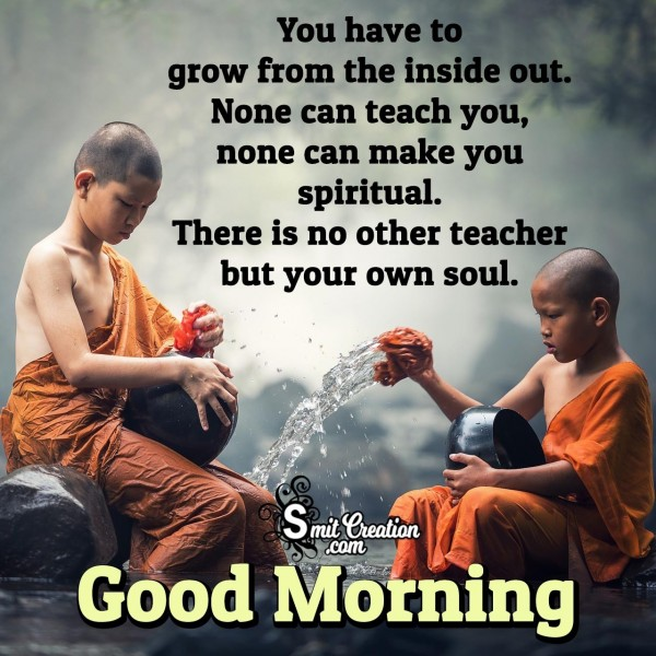 Good Morning Inspirational Thought