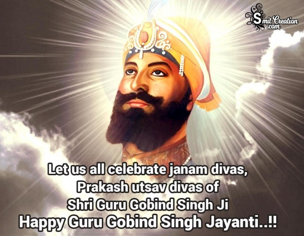 Guru Gobind Singh Jayanti Greetings