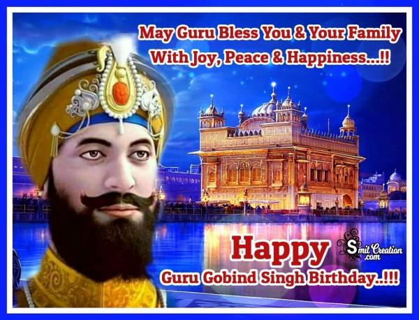Guru Gobind Singh Jayanti Image