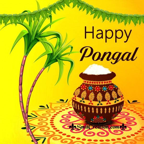 Happy Pongal Pot