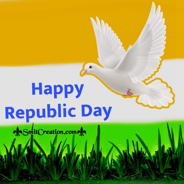 Republic Day With Pigeon