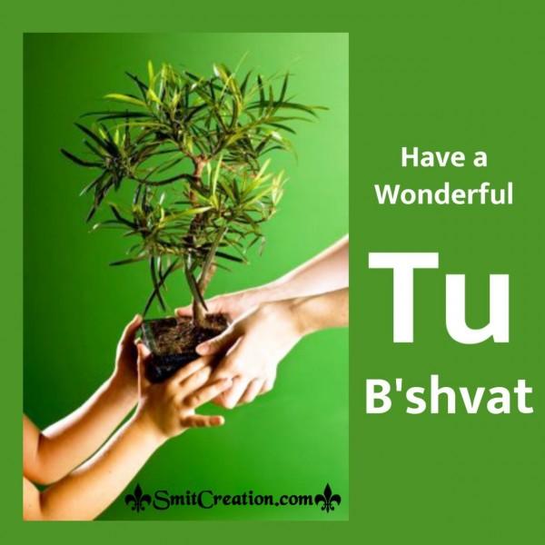 Have A Wonderful Tu Bishvat