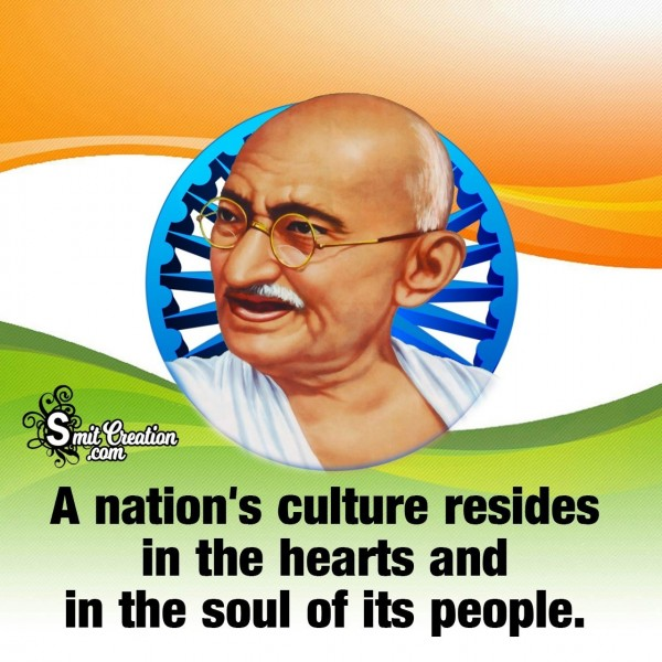 Republic Day Quote By Mahatma Gandhi