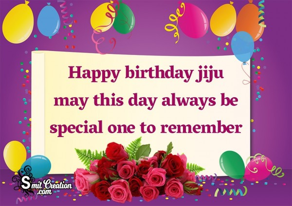 Birthday Wishes for Jiju