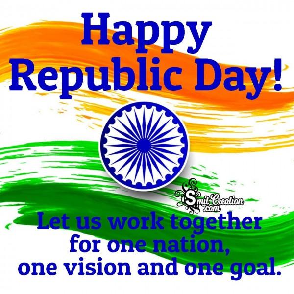 Happy Republic Day Message