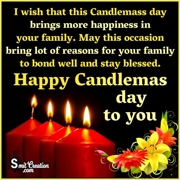 Happy Candlemass Day to You