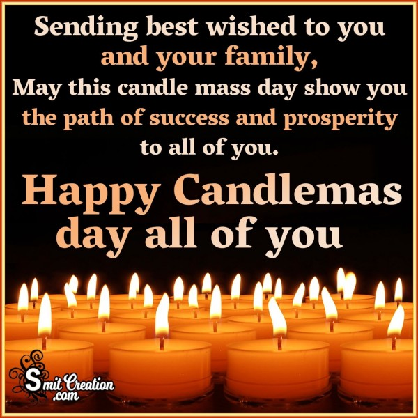 Happy Candlemass Day to All Of You