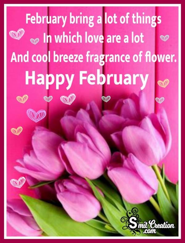 Happy February Quote