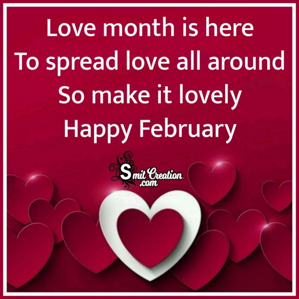 Happy February Message