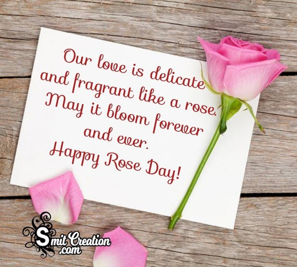 Happy Rose Day Wishes To Love