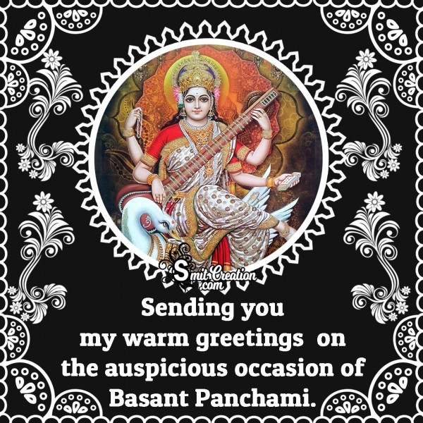 Happy Vasant Panchami Greetings