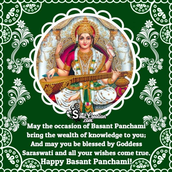 Happy Vasant Panchami Message