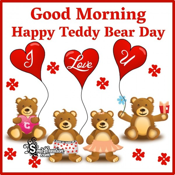 Good Morning Teddy Bear Day