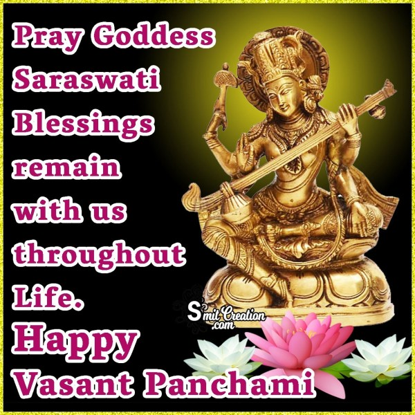 Vasant Panchami Blessings Quote