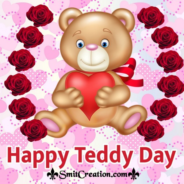 Happy Teddy Day Beautiful Image
