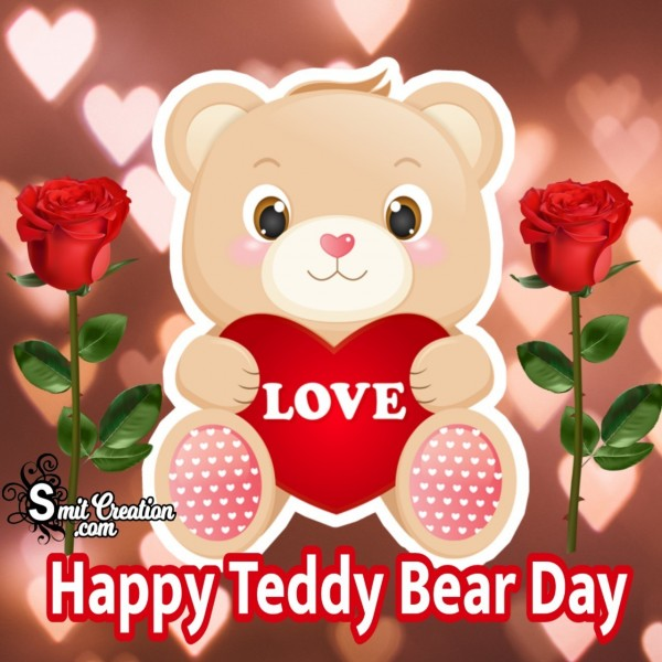 Happy Teddy Bear Day Lovely Image