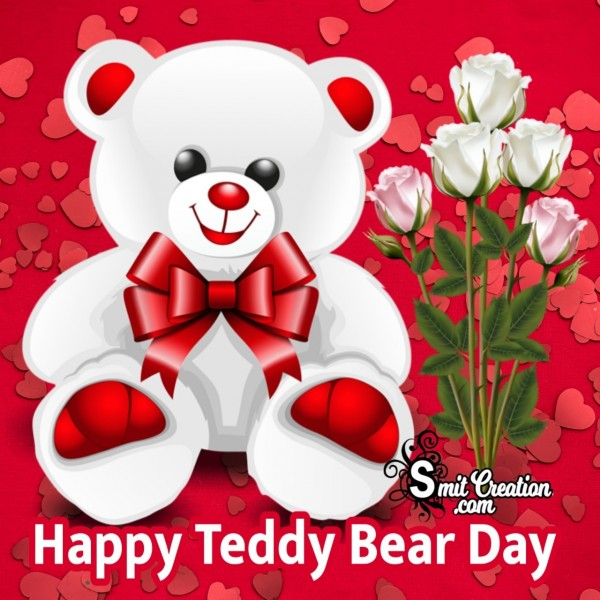 Happy Teddy Bear Day Whatsapp Image