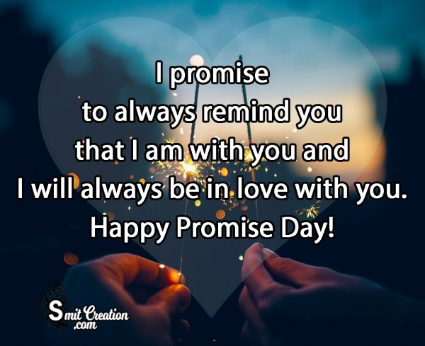 Promise Day Message To Love