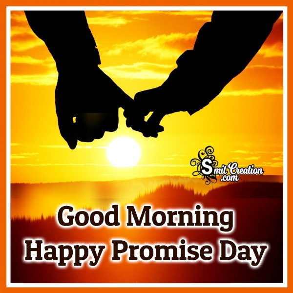 Good Morning Happy Promise Day Love