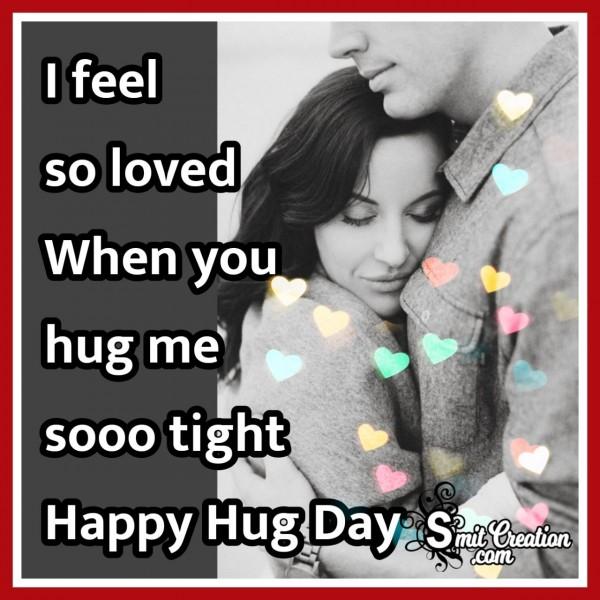 Happy Hug Day Love