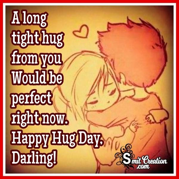 Happy Hug Day Darling