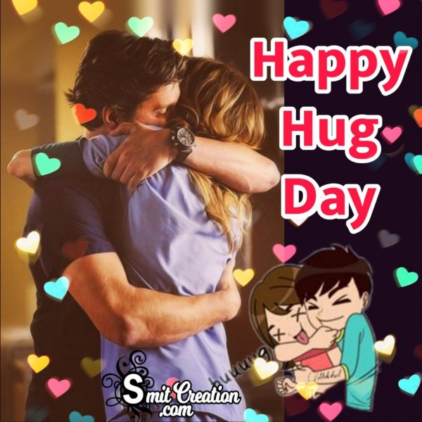 Happy Hug Day Photo