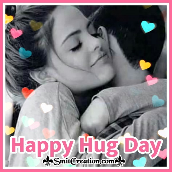 Happy Hug Day Card
