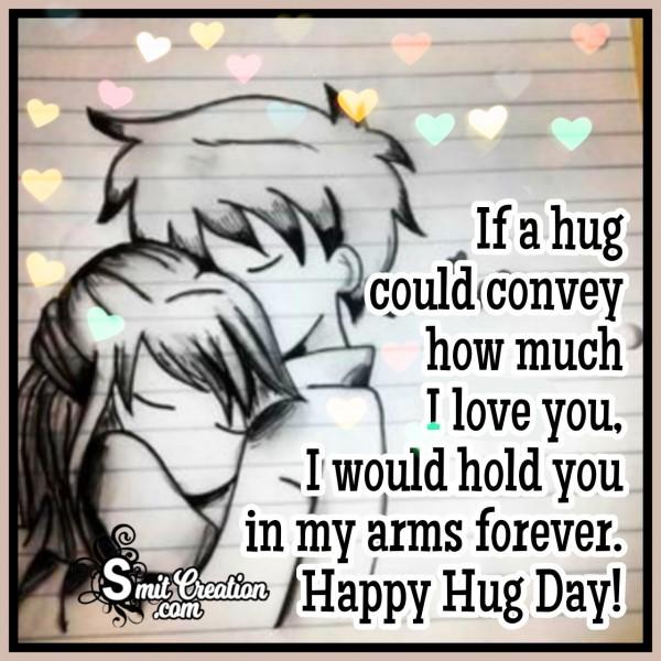 Hug Day I Love You Message
