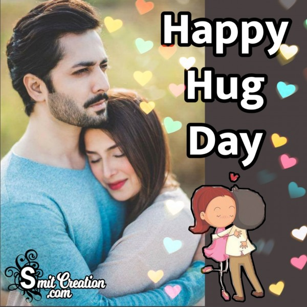 Happy Hug Day Greeting
