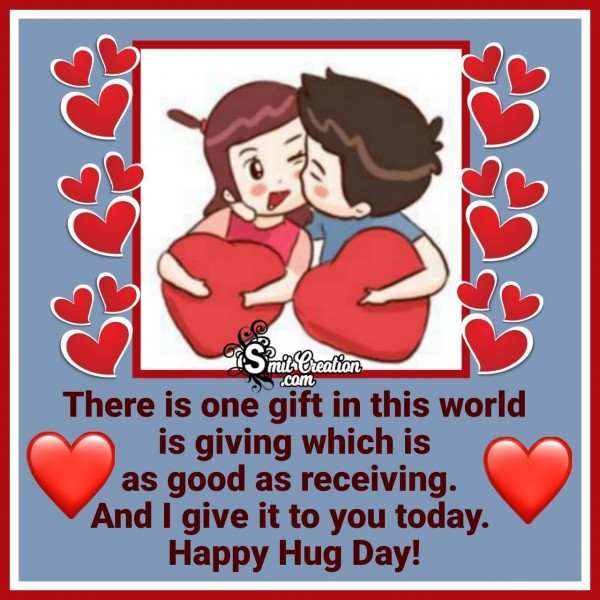 Happy Hug Day Wishes Quote