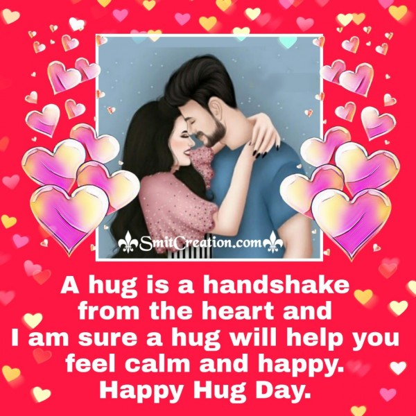 Happy Hug Day Wishes For Dear