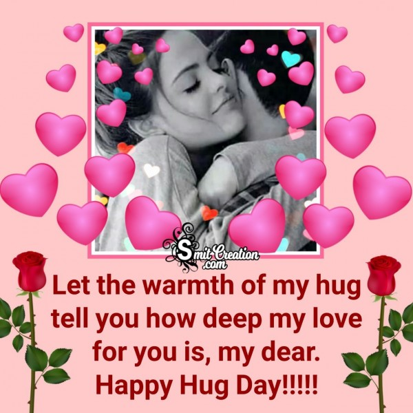 Happy Hug Day Wishes For My Love