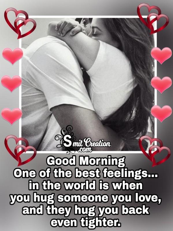 Good Morning Best Hug Feeling